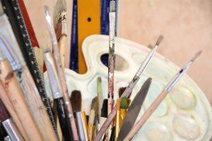 Malkurs: Freier Umgang mit Farbe nach dem Motto von Picasso: 'Ich suche nicht, ich finde' (8.9-8.12)