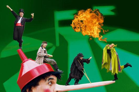 Kindertheater im Advent: 'Manege frei für Pinocchio'